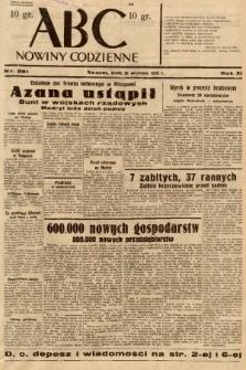 ABC : nowiny codzienne. 1936, nr281 |PDF|