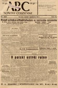ABC : nowiny codzienne. 1936, nr282 |PDF|