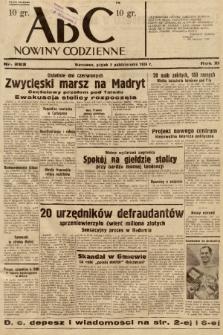 ABC : nowiny codzienne. 1936, nr283 |PDF|