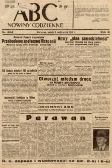 ABC : nowiny codzienne. 1936, nr284 |PDF|