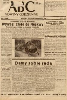 ABC : nowiny codzienne. 1936, nr286 |PDF|
