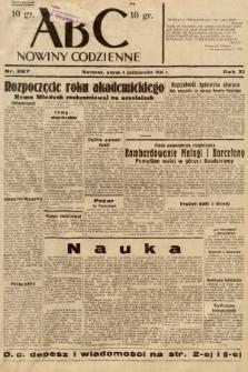 ABC : nowiny codzienne. 1936, nr287 |PDF|