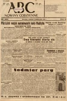 ABC : nowiny codzienne. 1936, nr289 |PDF|