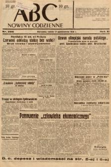 ABC : nowiny codzienne. 1936, nr298 |PDF|