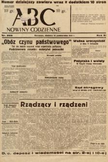 ABC : nowiny codzienne. 1936, nr299 |PDF|