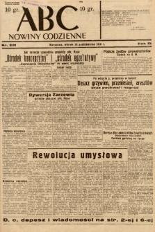 ABC : nowiny codzienne. 1936, nr301 |PDF|