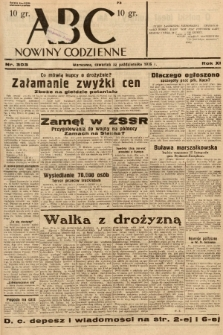 ABC : nowiny codzienne. 1936, nr303 |PDF|