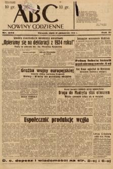 ABC : nowiny codzienne. 1936, nr304 |PDF|