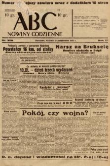 ABC : nowiny codzienne. 1936, nr306 |PDF|