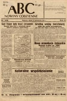 ABC : nowiny codzienne. 1936, nr308  PDF 