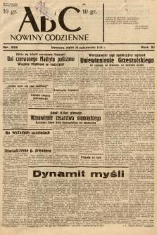 ABC : nowiny codzienne. 1936, nr312 |PDF|