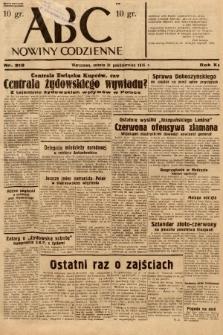ABC : nowiny codzienne. 1936, nr313  PDF 