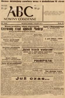 ABC : nowiny codzienne. 1936, nr314  PDF 