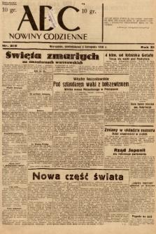 ABC : nowiny codzienne. 1936, nr315 |PDF|
