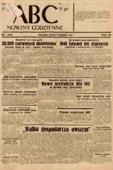 ABC : nowiny codzienne. 1936, nr316 |PDF|