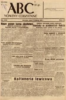 ABC : nowiny codzienne. 1936, nr319 |PDF|