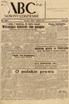 ABC : nowiny codzienne. 1936, nr320 |PDF|