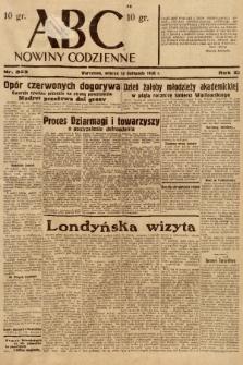 ABC : nowiny codzienne. 1936, nr323 |PDF|