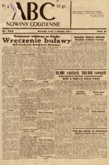 ABC : nowiny codzienne. 1936, nr324 |PDF|