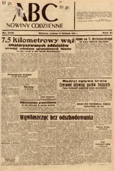 ABC : nowiny codzienne. 1936, nr325 [ocenzurowany] |PDF|