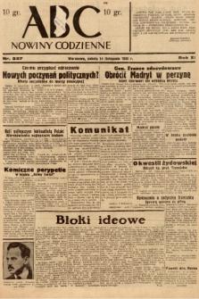 ABC : nowiny codzienne. 1936, nr327 |PDF|