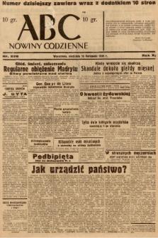 ABC : nowiny codzienne. 1936, nr328 |PDF|