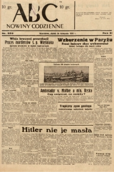 ABC : nowiny codzienne. 1936, nr333 |PDF|