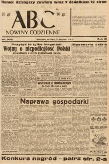 ABC : nowiny codzienne. 1936, nr335 |PDF|