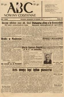 ABC : nowiny codzienne. 1936, nr336 |PDF|