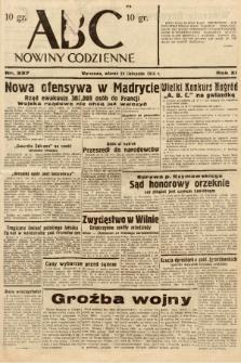 ABC : nowiny codzienne. 1936, nr337 |PDF|