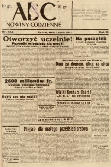 ABC : nowiny codzienne. 1936, nr344 |PDF|