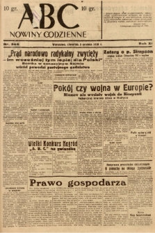 ABC : nowiny codzienne. 1936, nr346 |PDF|