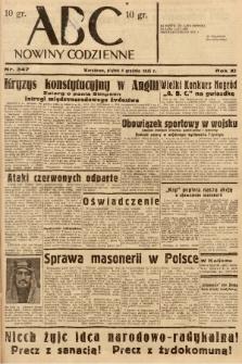 ABC : nowiny codzienne. 1936, nr347 |PDF|