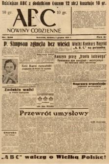 ABC : nowiny codzienne. 1936, nr349 |PDF|