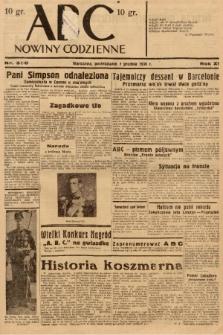 ABC : nowiny codzienne. 1936, nr350  PDF 