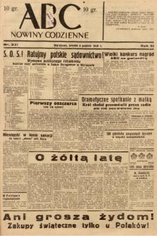 ABC : nowiny codzienne. 1936, nr351 |PDF|