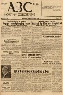 ABC : nowiny codzienne. 1936, nr352  PDF 