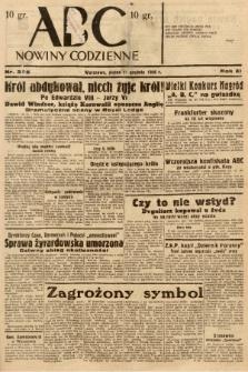 ABC : nowiny codzienne. 1936, nr355 |PDF|