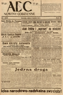 ABC : nowiny codzienne. 1936, nr360 |PDF|