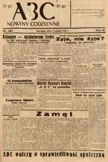 ABC : nowiny codzienne. 1936, nr361 |PDF|