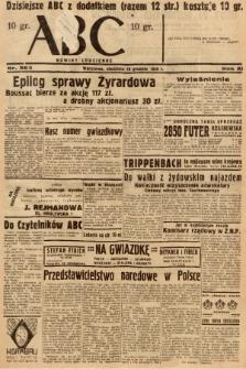 ABC : nowiny codzienne. 1936, nr365 [ocenzurowany] |PDF|
