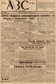 ABC : nowiny codzienne. 1936, nr367 |PDF|