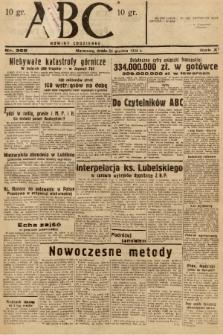ABC : nowiny codzienne. 1936, nr368 |PDF|