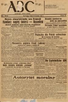 ABC : nowiny codzienne. 1936, nr373 |PDF|