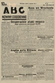 ABC : nowiny codzienne. 1936, nr100  PDF 