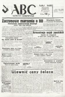 ABC : nowiny codzienne. 1939, nr33 A |PDF|