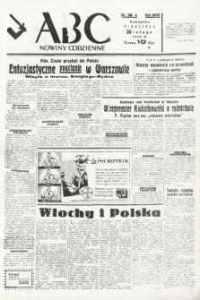 ABC : nowiny codzienne. 1939, nr58 A |PDF|
