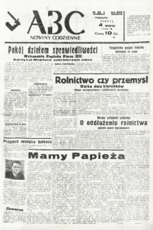 ABC : nowiny codzienne. 1939, nr65 A |PDF|