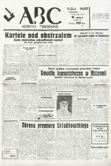 ABC : nowiny codzienne. 1939, nr71 A |PDF|