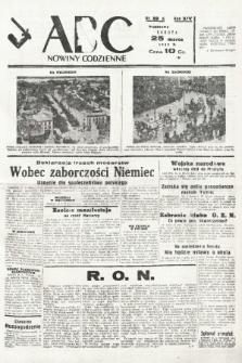ABC : nowiny codzienne. 1939, nr89 A |PDF|